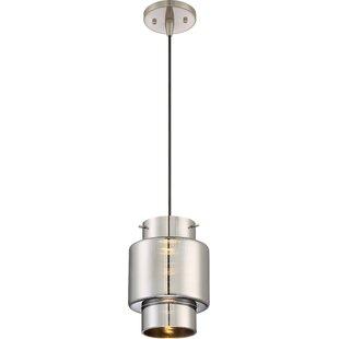 Ursa 1-Light LED Cylinder Pendant by Orren Ellis