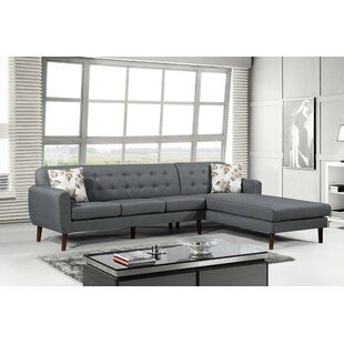 Jayant Mid Century Tufted Sectional By Latitude Run