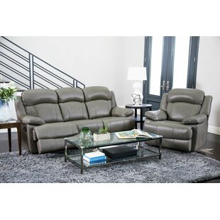 Best Choices Cuyler Reclining 2 Piece Leather Living Room Set by Darby Home Co Reviews (2019) & Buyer's Guide