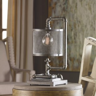 Best Leonid Industrial Pipe 23 Table Lamp By 17 Stories