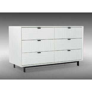 Ivy Bronx Donegore 6 Drawer Double Dresser