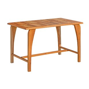 Tranquility Solid Wood Dining Table by EcoDecors