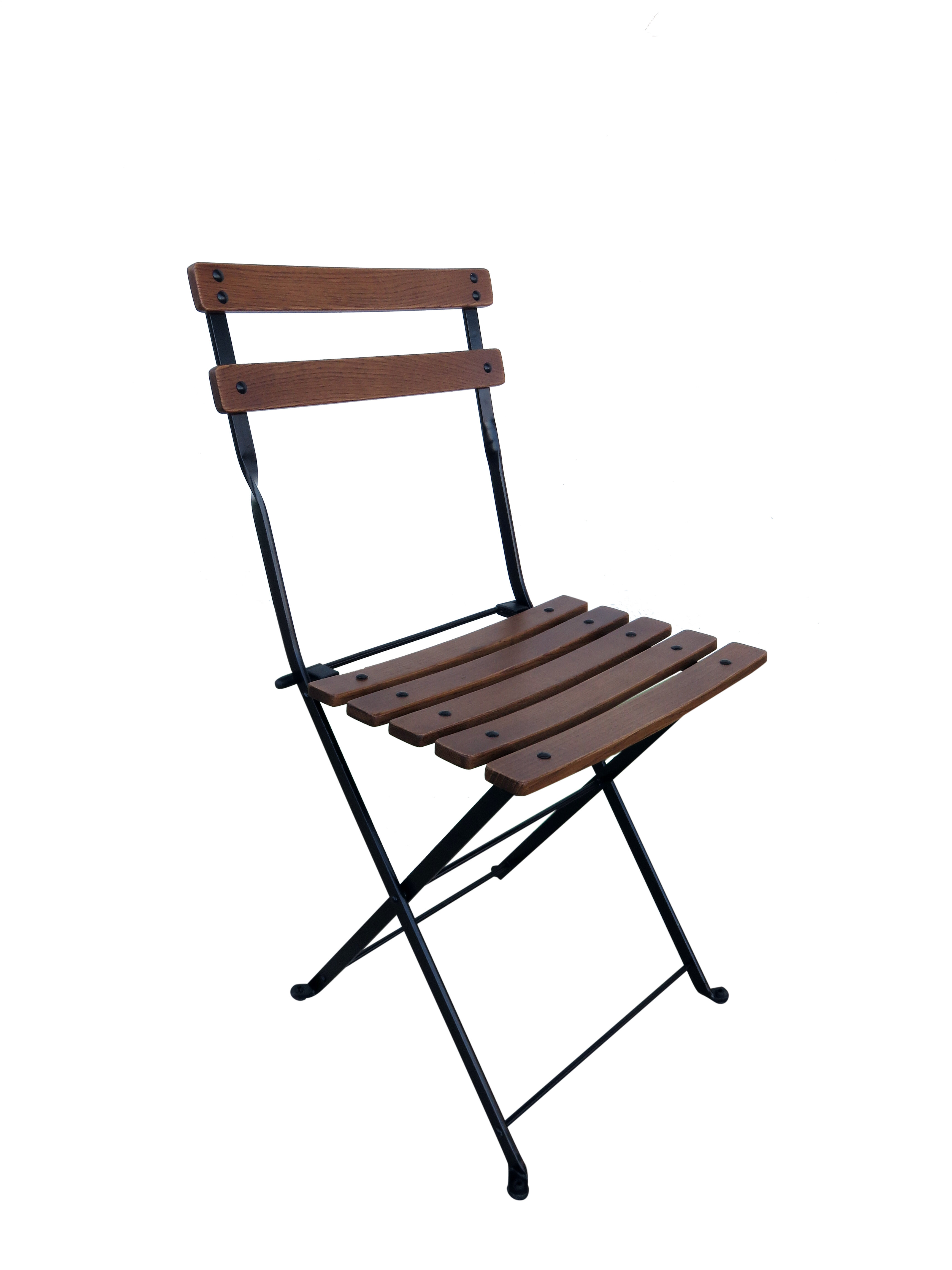 Magnificent French Cafe Bistro Folding Patio Dining Chair Machost Co Dining Chair Design Ideas Machostcouk