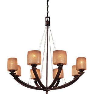 Minka Lavery Raiden 8-Light Shaded Chandelier