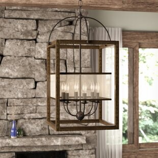 Bundoran 6-Light Square/Rectangle Chandelier