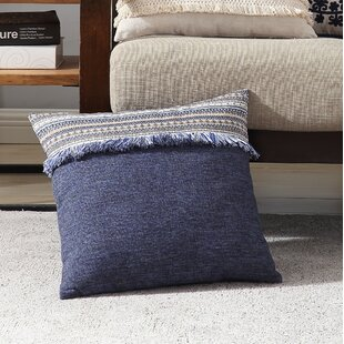 Buggs Fringed Throw Pillow Cover