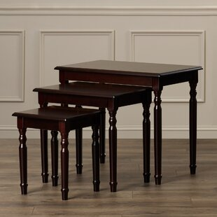 Charlton Home Raynsford 3 Piece Nesting Tables