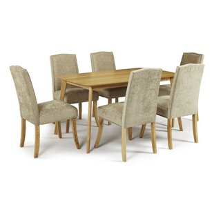 Sade Fixed Dining Set With 6 Chairs By Ebern Designs