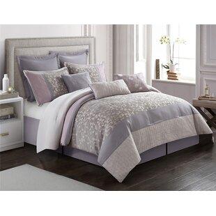 Shameka Reversible Comforter Set