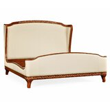 Duchess US Louis XV Queen Upholstered Platform Bed by Jonathan Charles Fine Furniture
