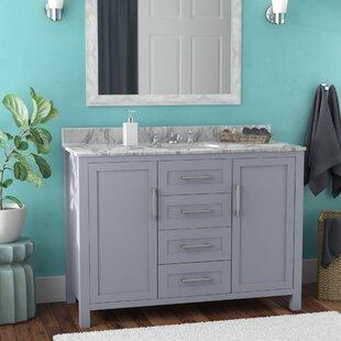 Hodgin 48 Single Bathroom Vanity by Latitude Run