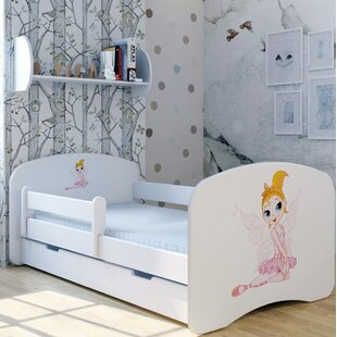 Fairy Sina Bed With Mattress And Drawer By Zoomie Kids