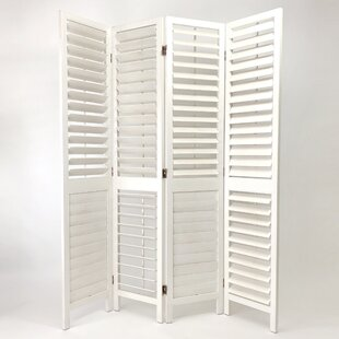 Rosecliff Heights Fish 4 Panel Room Divider