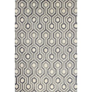 Price comparison Tufted Grey Area Rug By The Conestoga Trading Co.