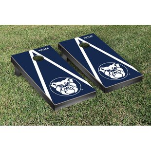 Victory Tailgate NCAA Triangle Wooden Version 2 Cornhole Game Set