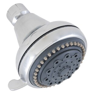 LDR Chrome Five Function Shower Head