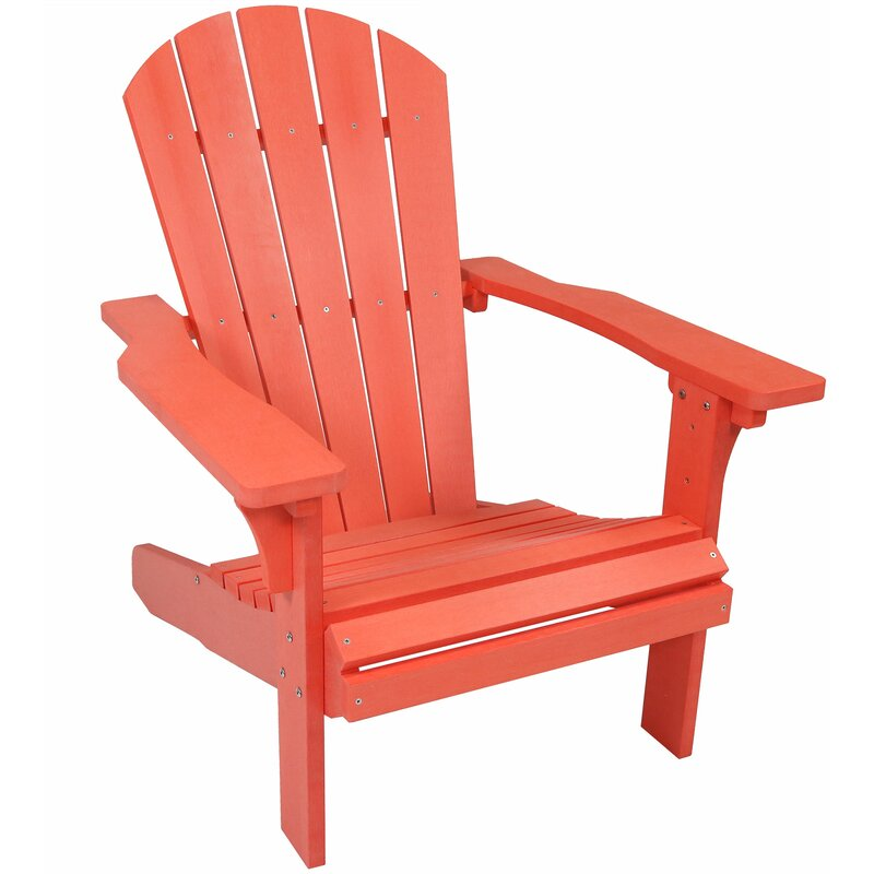 Millwood Pines Burlington All Weather Plastic Adirondack Chair Reviews Wayfair