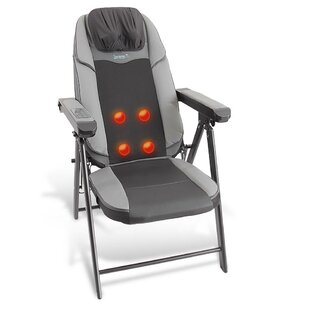 Leather Reclining Massage Chair by SereneLife