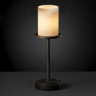 Reviews Soraya 16 Table Lamp with Drum Shade By Loon Peak
