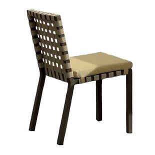 Loft Patio Dining Chair with Cushion (Set of 2)
