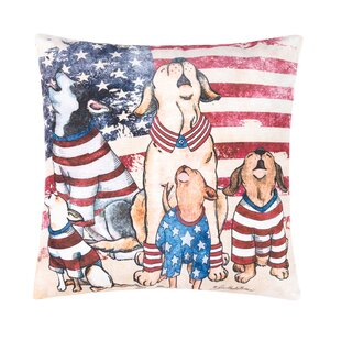 Poulsbo Howlers for Freedom Indoor/Outdoor Throw Pillow