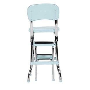 Retro Kitchen Chair Step Stool | Wayfair