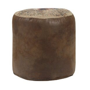 Stone Deer Tapestry Pouf by American Furniture Classics