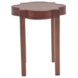 Timothe Quatrefoil End Table