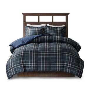 Flint CozySpun Down Alternative Comforter Set by Woolrich Today Sale Only