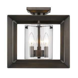 Thorne 3-Light Semi Flush Mount