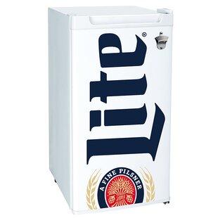 Miller Lite 3.3 cu. ft. Compact Refrigerator