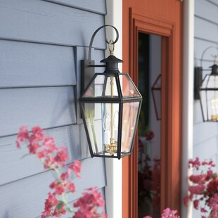 Darby Home Co Alam 2-Light Outdoor Wall Lantern