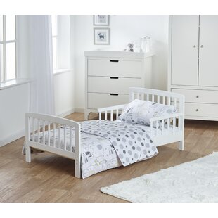 Phillip Toddler Bed Frame with Bedding Set by Viv   Rae
