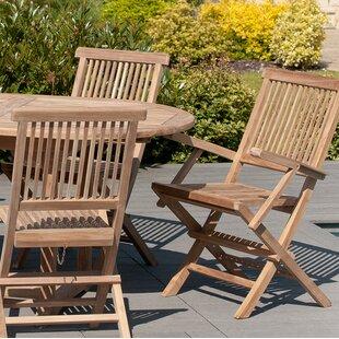 Fantastic Woehler Folding Garden Chair Set Of 2 Ncnpc Chair Design For Home Ncnpcorg