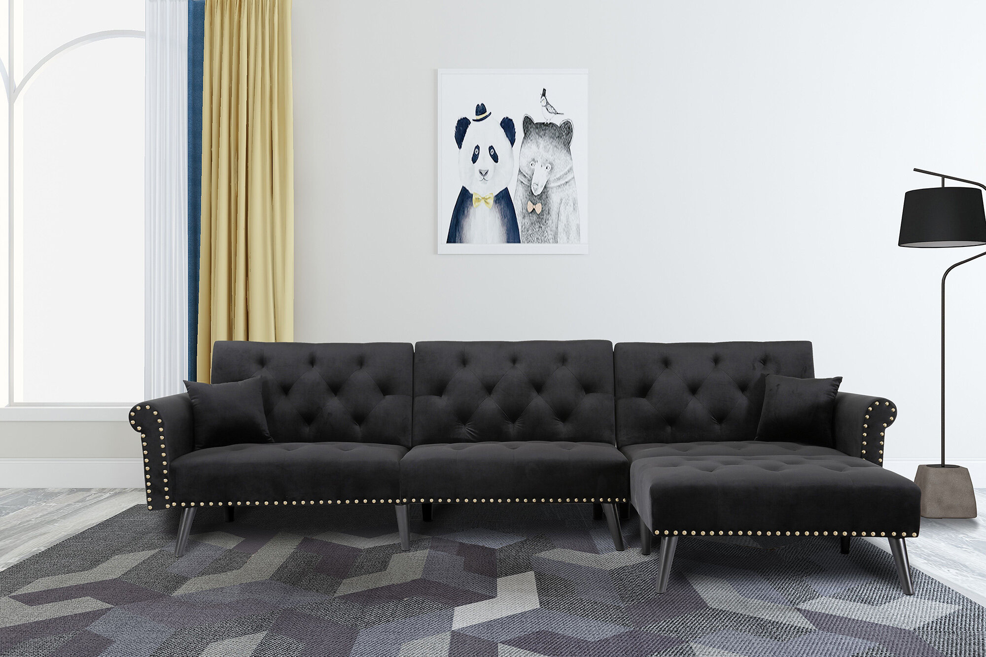 Glam Sectionals You Ll Love In 2021 Wayfair