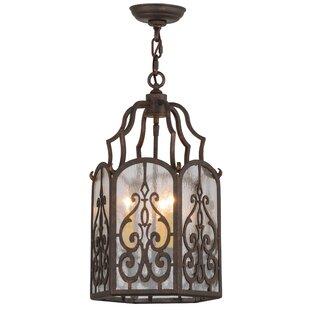 Meyda Tiffany Greenbriar 3-Light Foyer Pendant