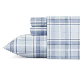 Mulholland Plaid 100% Cotton Flannel Sheet Set