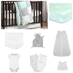 Adventure Patch Essentials 11 Piece Crib Bedding Set By The Peanut Shell