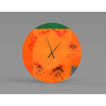 August Grove Mindenmines Wall Clock Wayfair