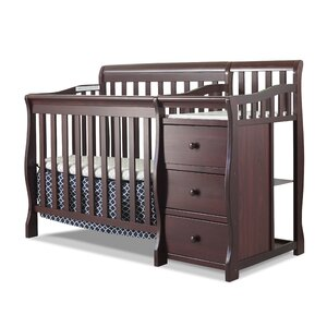 Newport 2-in-1 Convertible Mini Crib and Changer
