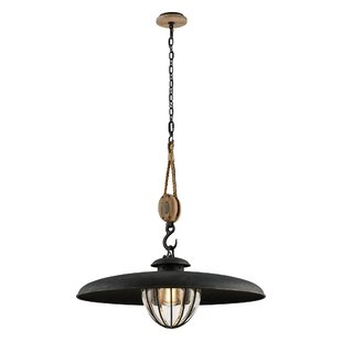 Torrence 1-Light Metal Pendant by 17 Stories