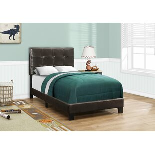 Charlton Home Duggan Upholstered Panel Bed