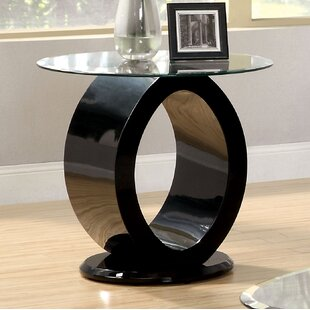 Everette End Table by Orren Ellis