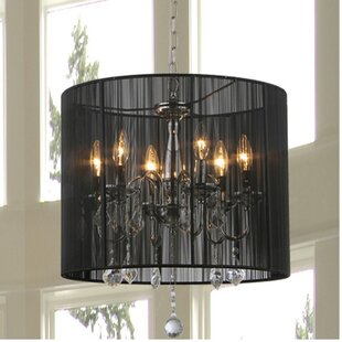Willa Arlo Interiors Vitya 6-Light Chandelier