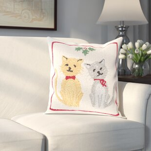 Brimfield Cats Winter Pillow Cover