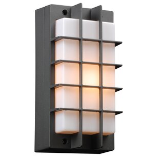Schulze 1-Light Outdoor Flush Mount
