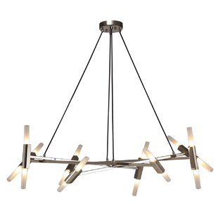 Brayden Studio Dora 16-Light Sputnik Chandelier