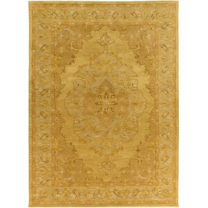 Middleton Meadow Hand-Tufted Rug Sunflower/Gold Area Rug