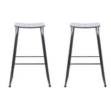 Madden 29 Bar Stool (Set of 2) by Ebern Designs