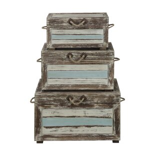 Norcroft 3 Piece Accent Trunk Set by Beachcrest Home
